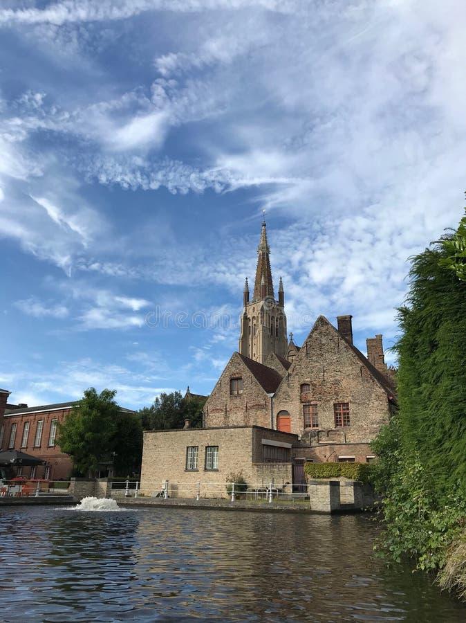 Bruges di stupore belgium europa fotografia stock