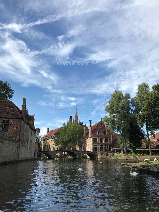 Bruges di stupore belgium europa fotografia stock libera da diritti