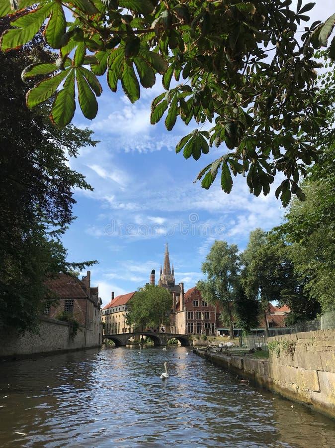 Bruges di stupore belgium europa fotografie stock libere da diritti