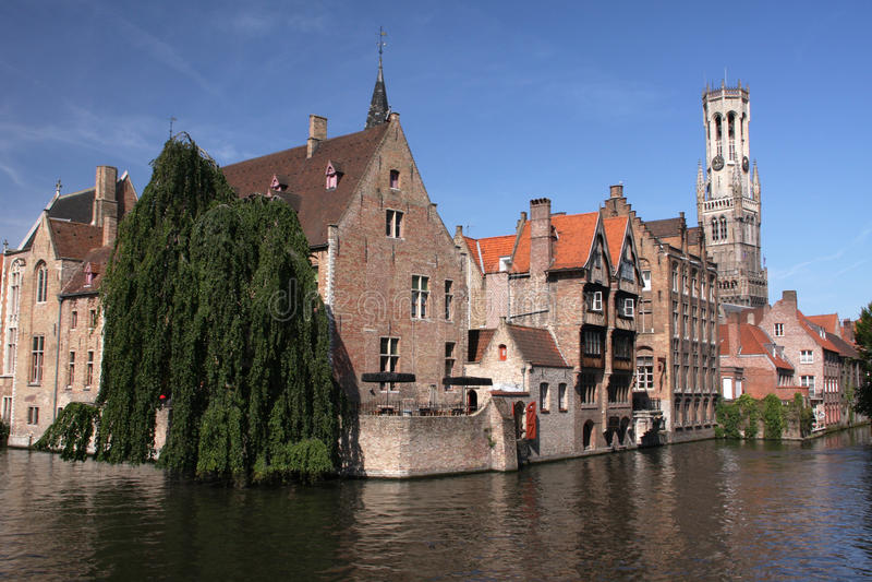 Bruges historique photos stock