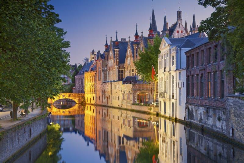 Bruges. stock photos