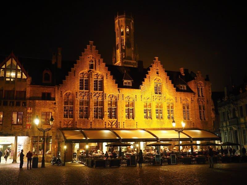 Bruges - Bruges - la capitale della contea delle Fiandre immagine stock