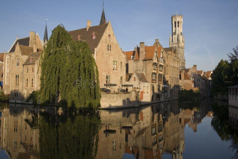 Bruges nel Belgio immagini stock