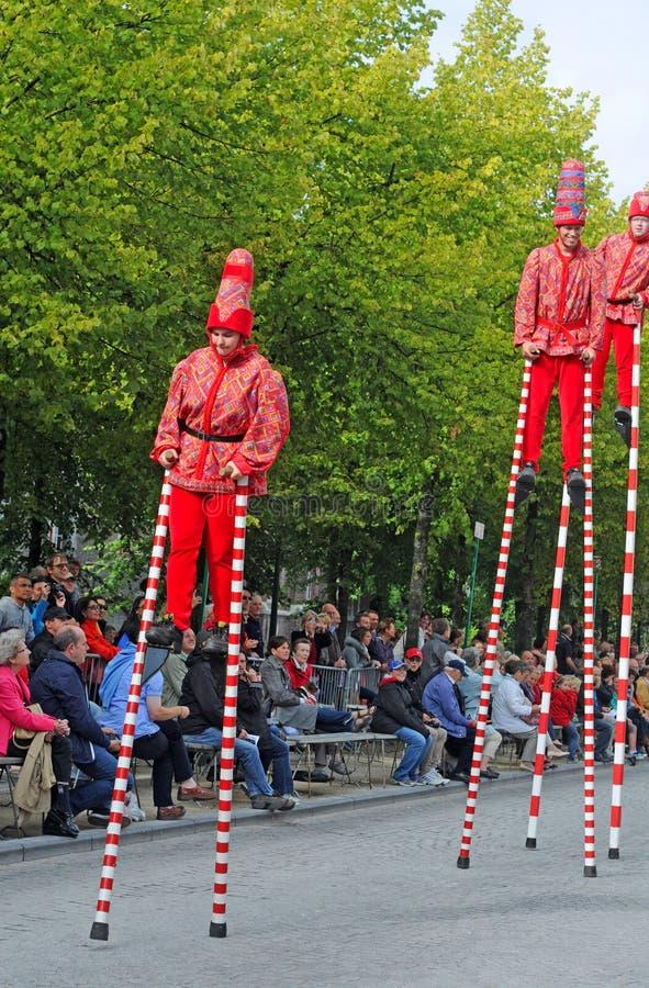 Download Bruges Pageanten Av Den Guld- Treen Redaktionell Foto - Bild av dräkt, show: 27277285