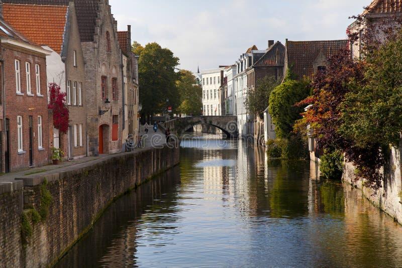 Bruges storica fotografia stock libera da diritti