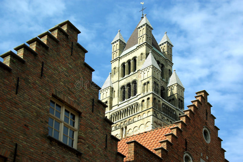 Download Brugge stock photo. Image of front, facade, view, temple - 10176078