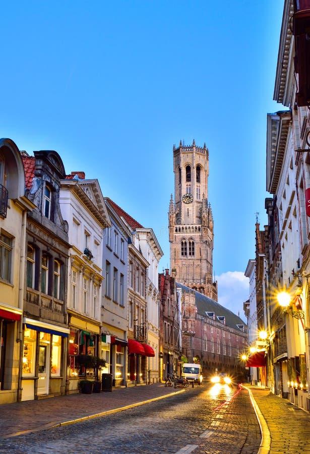 Brugge, België stock afbeelding