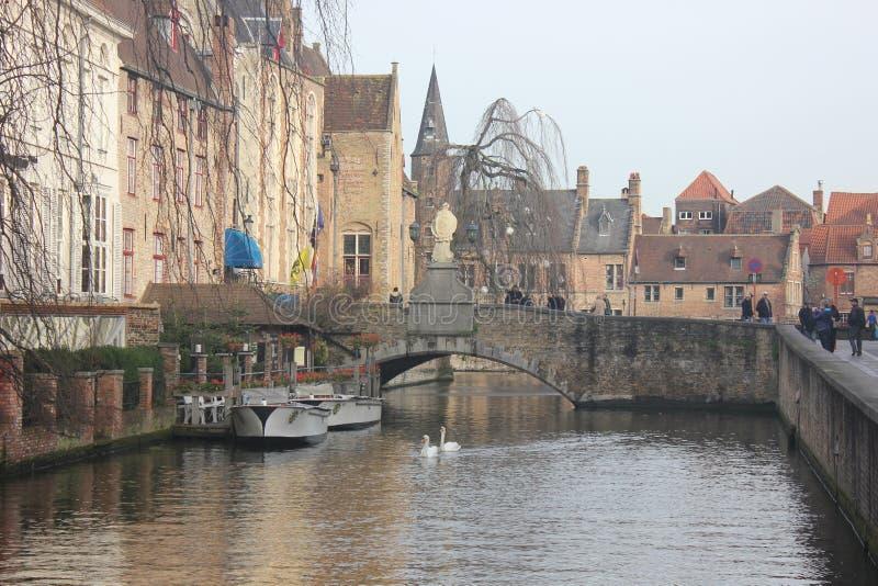 Brugge - België stock afbeeldingen