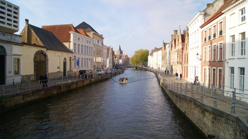 Brugge, België, beelden van de stad stock afbeeldingen