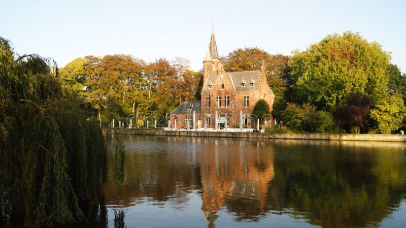 Brugge, België, beelden van de stad royalty-vrije stock foto