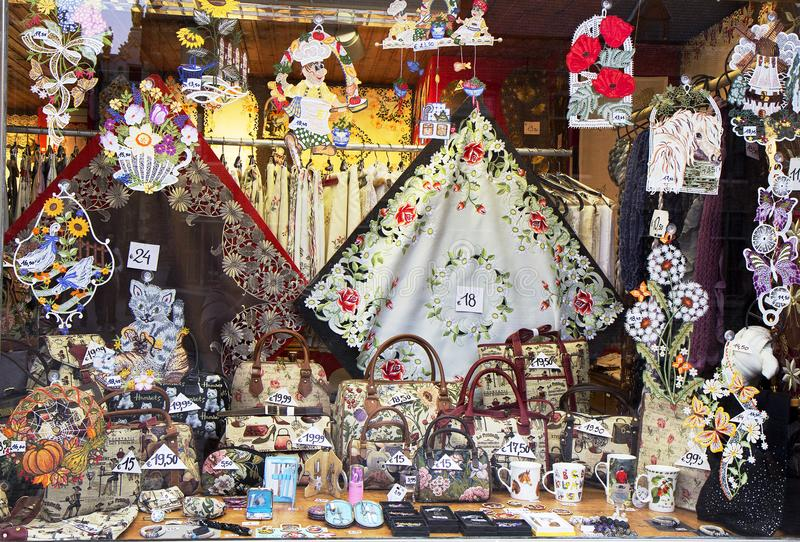 Brugge, België, Herinneringen royalty-vrije stock foto