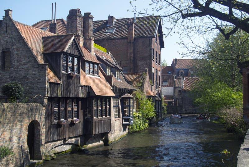 Brugge Belgien royaltyfria foton