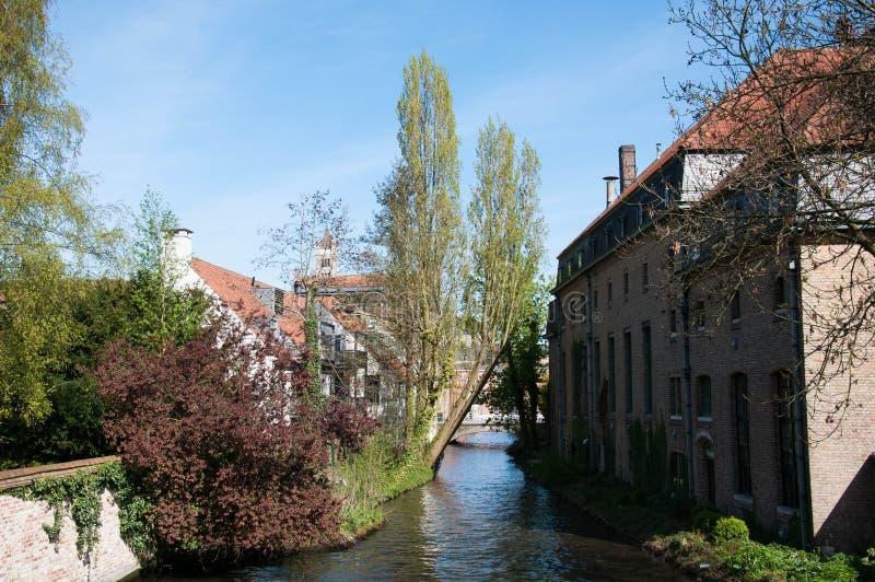 Brugge, Belgium. Beautiful view of Brugge, Belgium royalty free stock image