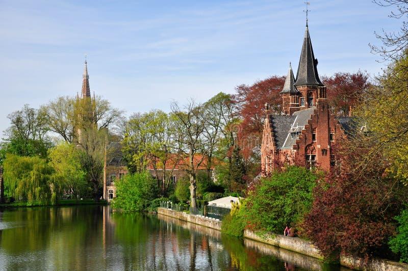 Brugge, Belgium. Beautiful view of Brugge, Belgium royalty free stock photography