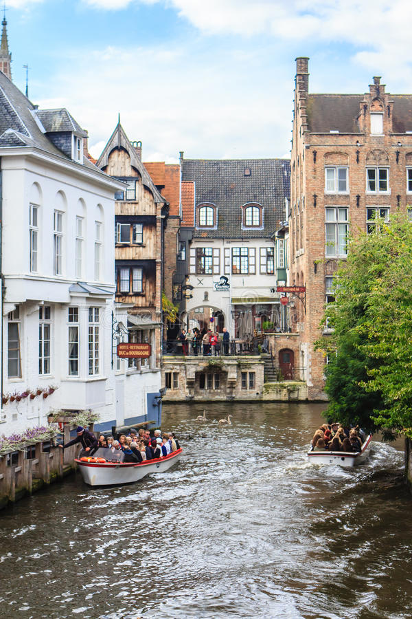Brugge Bruges, Belgien royaltyfria foton