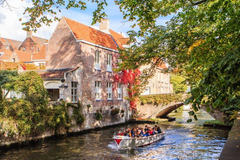 Brugge Bruges, Belgien fotografering för bildbyråer