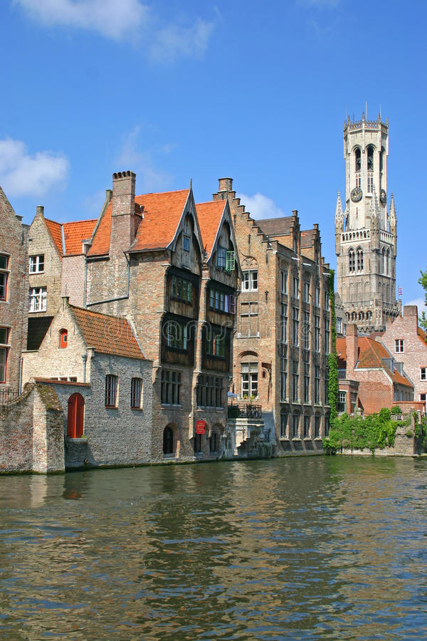 Download Brugge Canal stock image. Image of reflections, architecture - 11767475