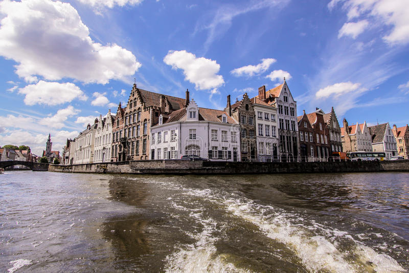 Brugge canal royalty free stock images
