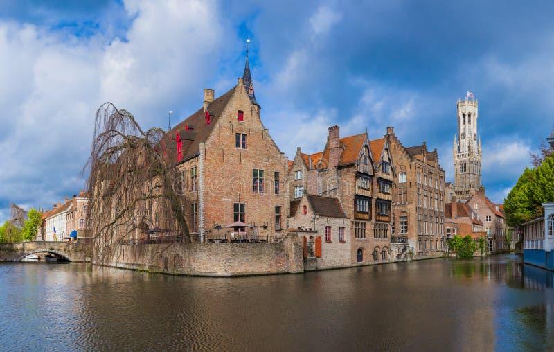 Brugge cityscape - Belgium. Architecture background stock image