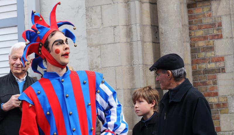Brugge, Optocht van het Heilige Bloed royalty-vrije stock fotografie