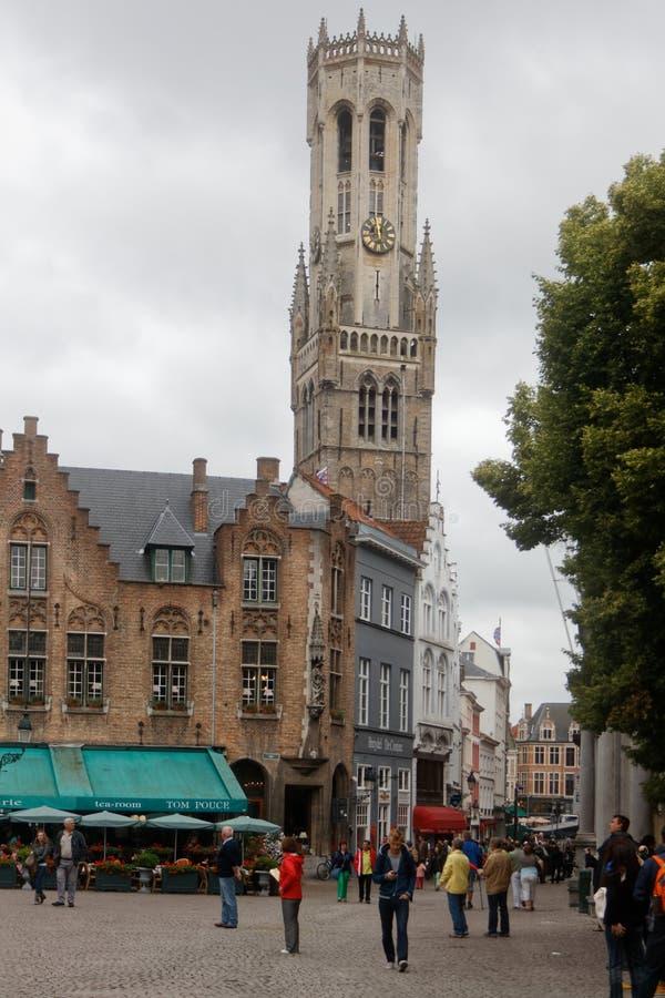 Brugge, piękny miasto w Belgia 4 obrazy royalty free