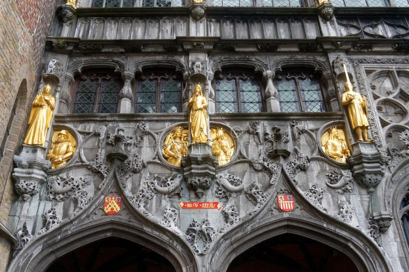 Brugge, piękny miasto w Belgia 8 zdjęcia stock