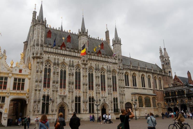 Brugge, piękny miasto w Belgia 9 obrazy stock
