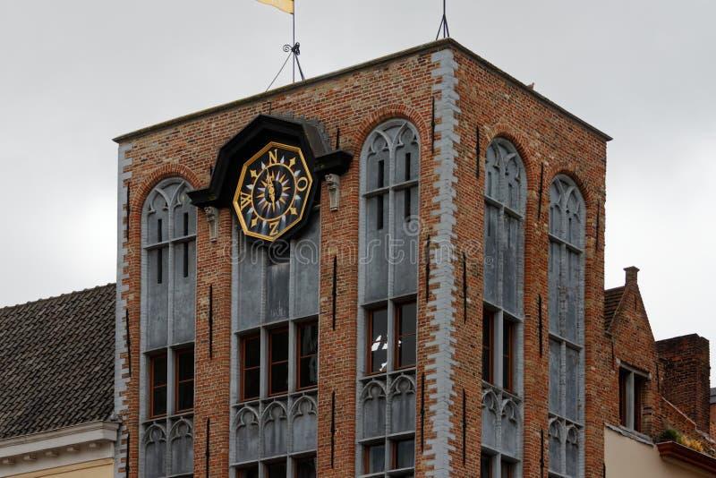 Brugge, piękny miasto w Belgia 10 fotografia royalty free