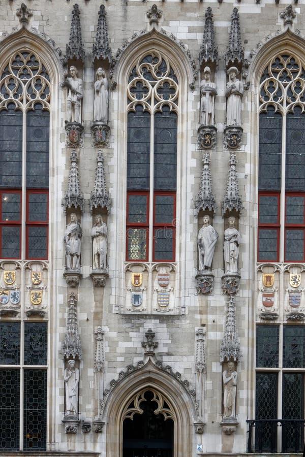 Brugge, piękny miasto w Belgia 11 obraz stock