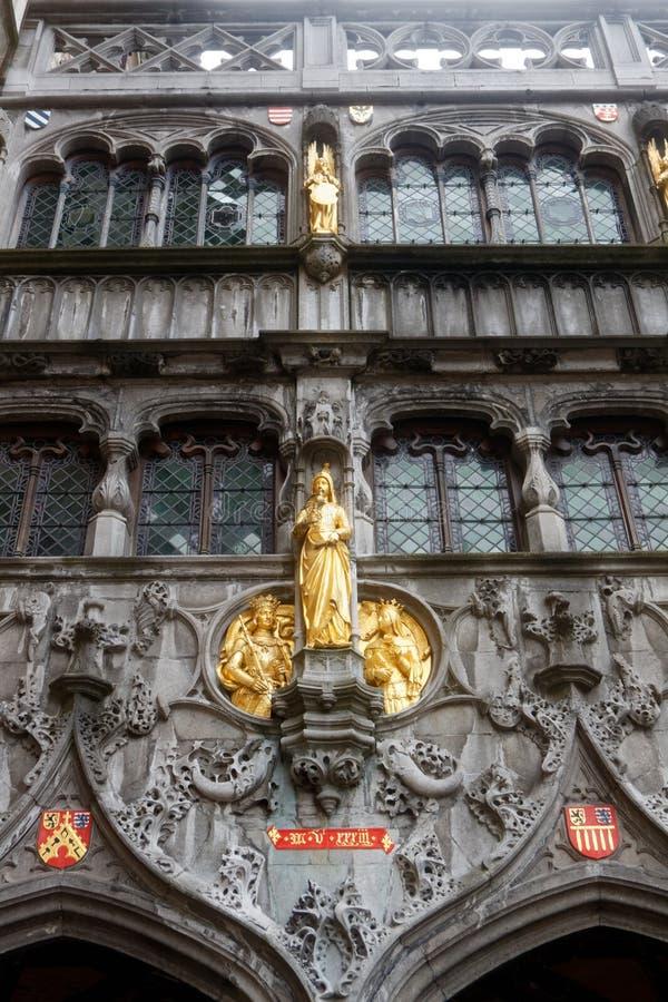 Brugge, piękny miasto w Belgia 12 zdjęcia royalty free