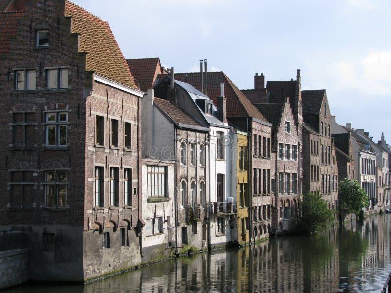 Brugge van de binnenstad royalty-vrije stock foto