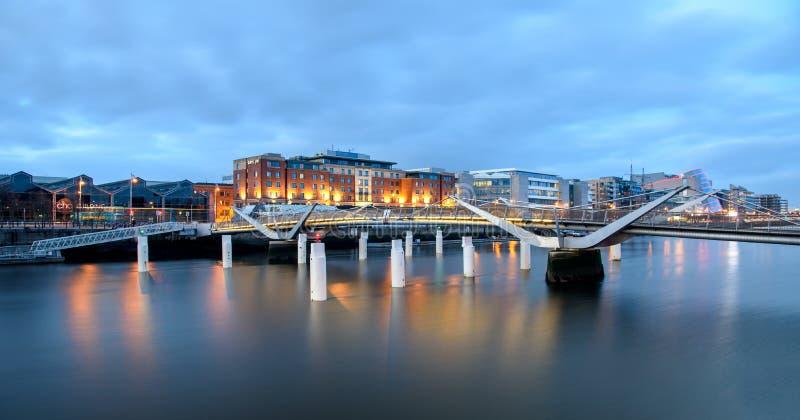 Bruggen van Dublin Ireland royalty-vrije stock afbeelding
