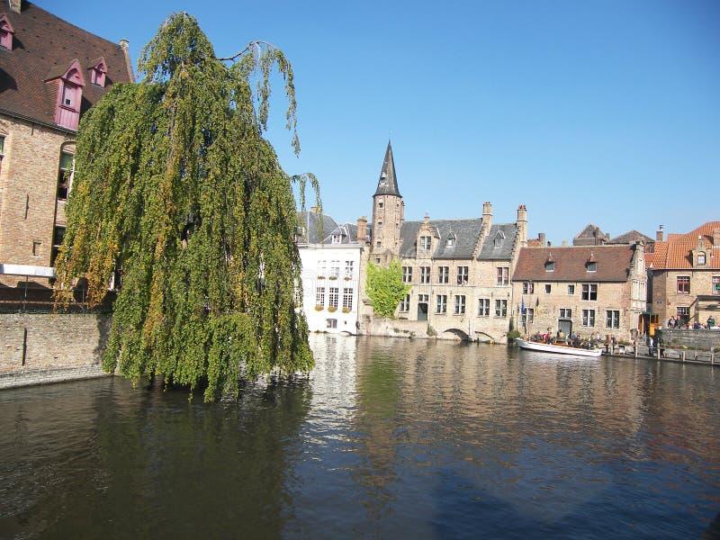 brugges Бельгии стоковая фотография rf