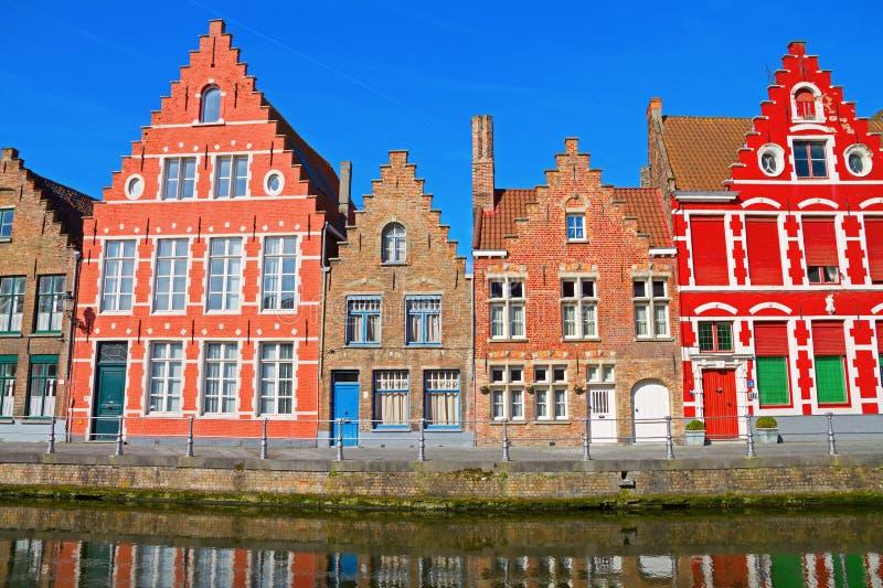 Brugges, België. stock fotografie