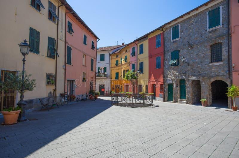 Brugnato, La Spezia binnenlands, dichtbij beroemde 5 Terre, Italië royalty-vrije stock afbeeldingen