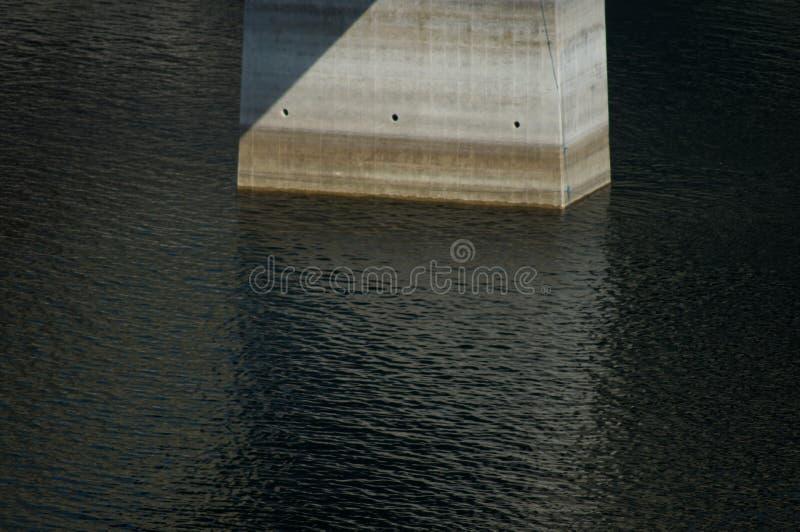 Brugvoet Firat River Lake royalty-vrije stock afbeeldingen