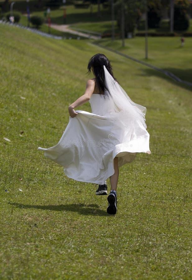 Bruid 2 van de vluchteling stock fotografie