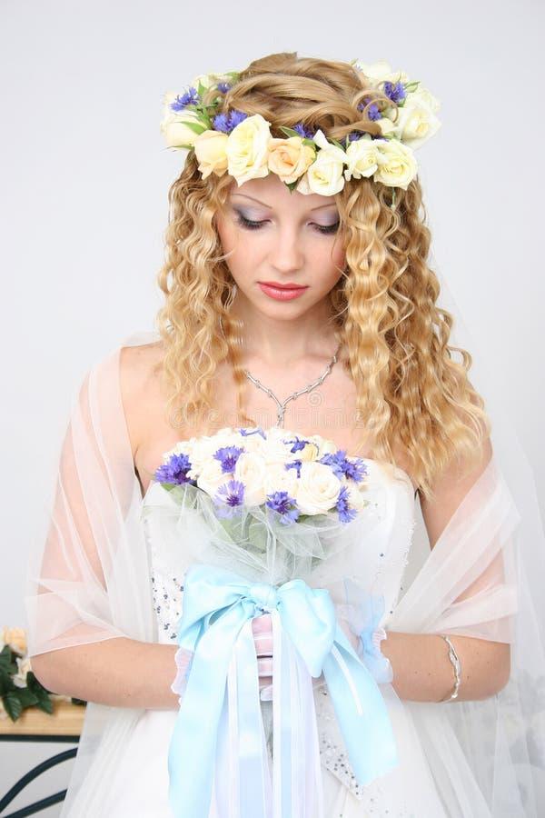 Bruid. stock foto