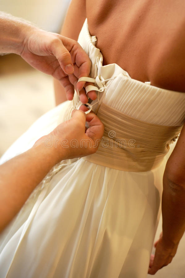 Bruid stock fotografie