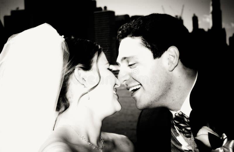 Bruid en Bruidegom royalty-vrije stock foto's