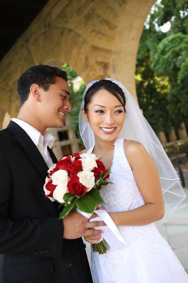 Bruid en Bruidegom bij Huwelijk