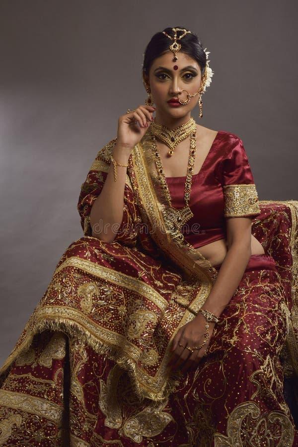 Bruid van India royalty-vrije stock fotografie