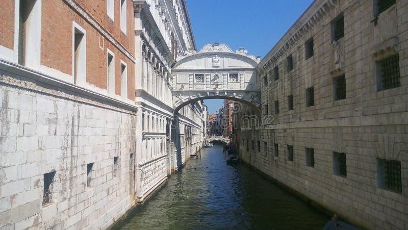 Bruid van Sighs in Venetië, Italië royalty-vrije stock foto's