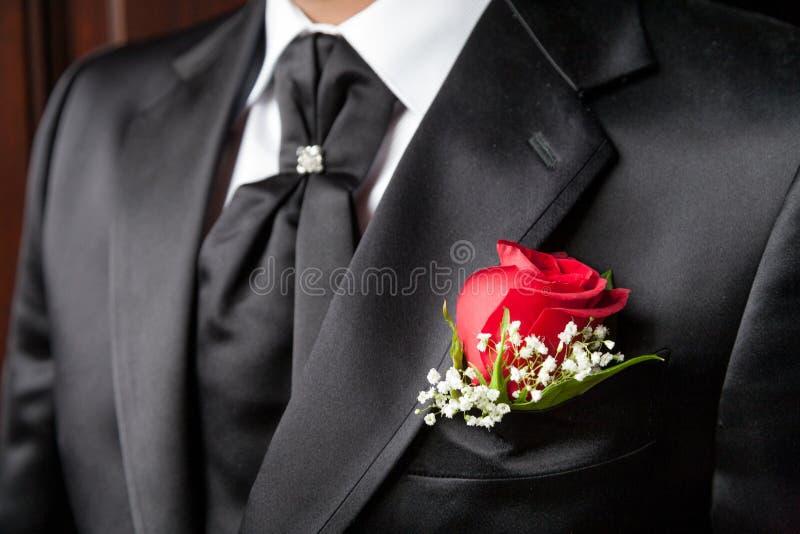 Bruidegomkleding royalty-vrije stock fotografie