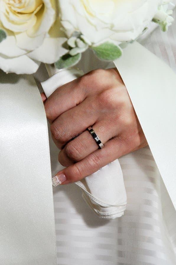 Bruids beeld royalty-vrije stock afbeeldingen