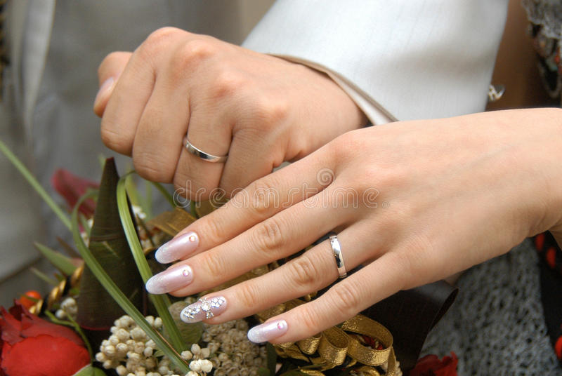 Bruids beeld stock foto's