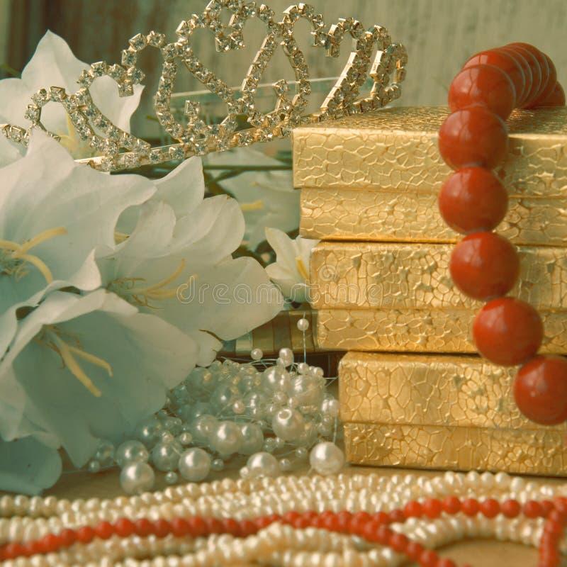 Bruids giften royalty-vrije stock afbeelding