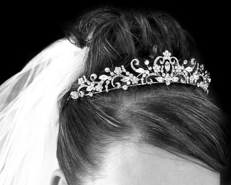 Bruids Haar royalty-vrije stock foto
