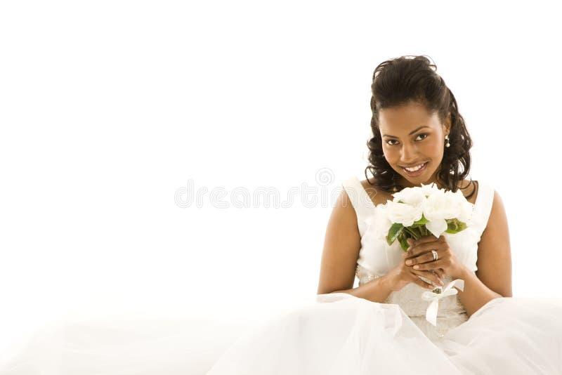 Bruids portret. royalty-vrije stock foto