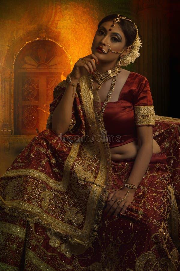 Bruids slijtage royalty-vrije stock afbeelding